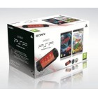 Консоль PSP  Комплект «Sony PSP Slim Base Pack Black (PSP-E1008/Rus) + игра «Тачки 2» + игра «Geronimo Stilton»