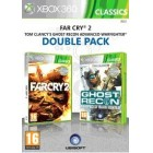 Боевик / Action  Far Cry 2 & Tom Clancy's Ghost Recon Advanced Warfighter Double Pack [Xbox 360, английская версия]