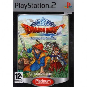 Ролевые / RPG  Dragon Quest - The Journey of the Cursed King (Platinum) [PS2]