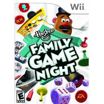 Логические/Logic  Hasbro Family Game Night (rus box&doc) (Wii) (DVD-box)