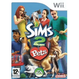 Симуляторы / Simulator  Sims 2. Pets (full eng) (Wii) (DVD-box)
