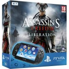 Консоль PS Vita  Комплект Sony PS Vita WiFi Black Rus (PCH-1008ZA01) + PSN код активации Assassin's Creed. Освобождение