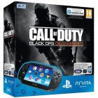 Консоль PS Vita  Комплект Sony PS Vita WiFi Black Rus (PCH-1008ZA01) + PSN код активации Call of Duty: Black Ops. Declassified