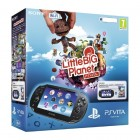 Консоль PS Vita  Комплект Sony PS Vita WiFi Black Rus (PCH-1008ZA01) + PSN код активации LittleBigPlanet + Карта памя