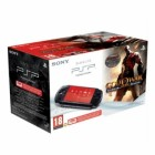 Консоль PSP  Комплект «Sony PSP Slim Base Pack Black (PSP-E1008/Rus)» + игра «God of War: Призрак Спарты (Esn)