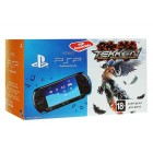 Консоль PSP  Комплект Sony PSP Slim Base Pack Black (PSP-E1008/Rus) + игра Tekken: Dark Resurrection (Essentials)