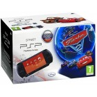 Консоль PSP  Комплект «Sony PSP Slim Base Pack Black (PSP-E1008/Rus)» + игра «Тачки 2 (Essentials)»